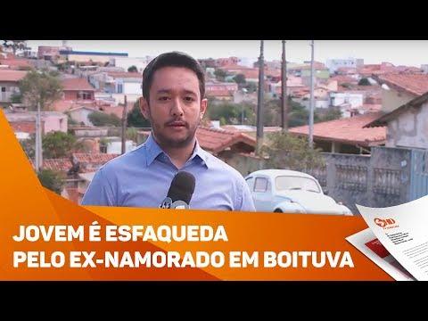 Jovem é esfaqueada pelo ex-namorado em Boituva - TV SOROCABA/SBT