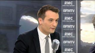 """Florian Philippot: """"Il faut rétablir la double peine en France"""""""