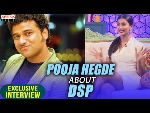 Pooja Hegde About DSP || Allu Arjun &...