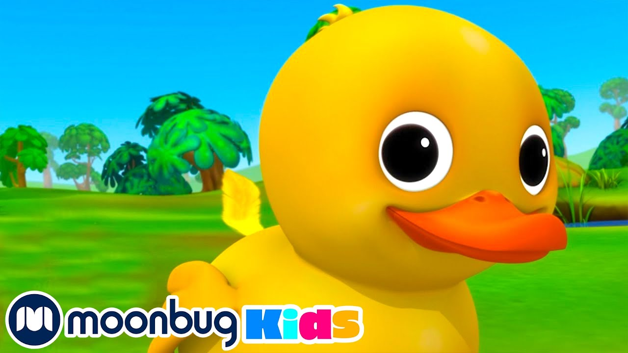 6 Little Ducks Song | Little Baby Bum Nursery rhymes | Baby Songs | Moonbug Kids
