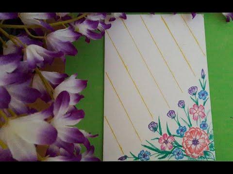 S32_Beautiful handmade greeting/birthday card _cách làm thiệp chúc mừng/sinh nhật đơn giản