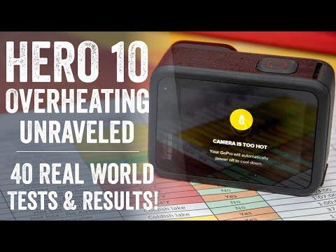 GoPro Hero 10 Overheating: 40 Tests Later