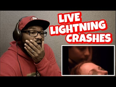 LIVE - LIGHTNING CRASHES | REACTION