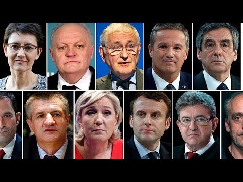 11 candidates to contest French presidential election