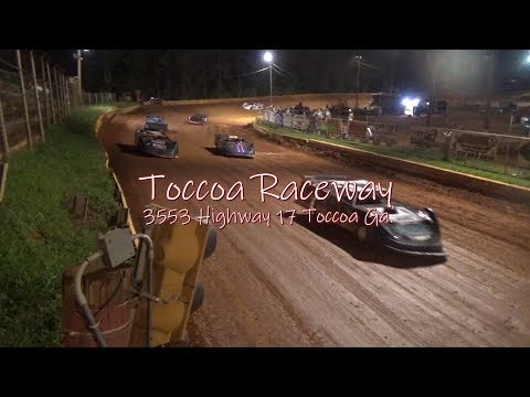 Toccoa Raceway Weekly Divisions 7-19-18