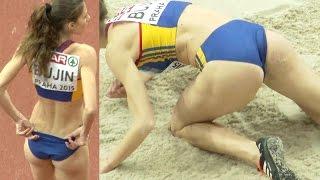 Cristina Bujin 2015, a lovely Roumanian triple jumper