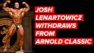 Nicole Bass RIP; Lenartowicz WITHDRAWS from Arnold Classic