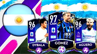EPIC FULL ARGENTINA SPECIAL CARDS SQUAD BUILDER ! FIFA MOBILE 20