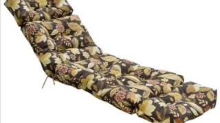 72-inch Indoor / Outdoor Patio Chaise Lounger Cushion ; Outdoor Bench Cushion