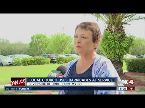 Fort Myers Church installs protective barriers in wake of Texas Church Shooting