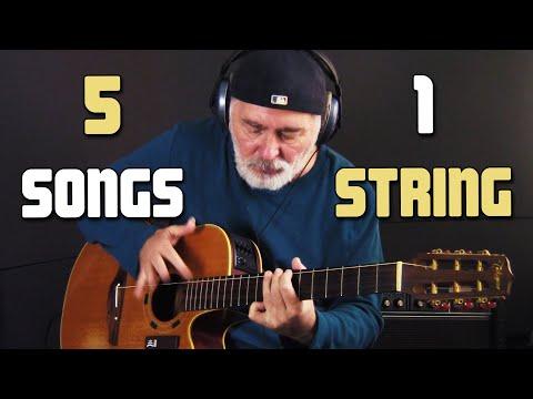 5 Songs 1 String!