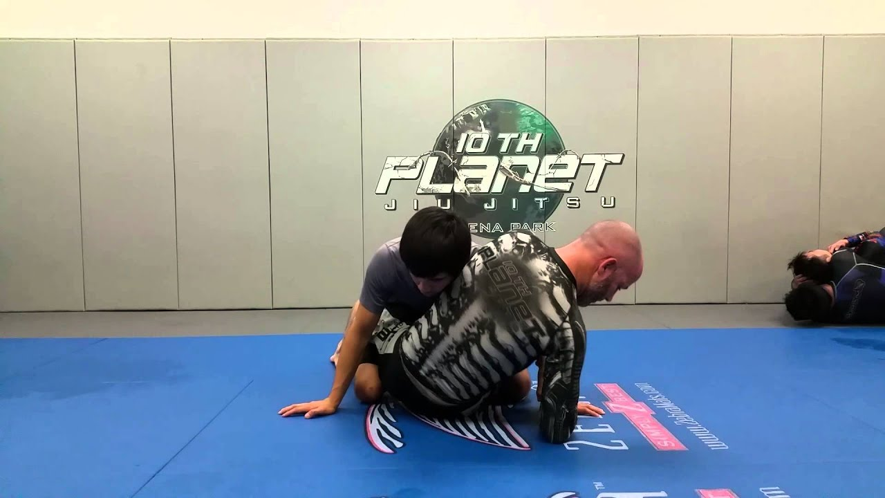 Kimura from the guard and counter