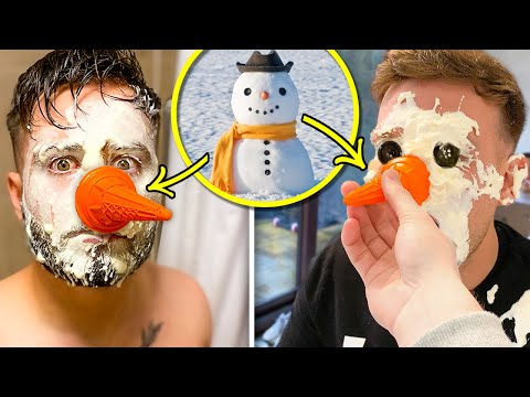 ARE YOU A SNOWMAN??? FUNNY CHALLENGE!!!