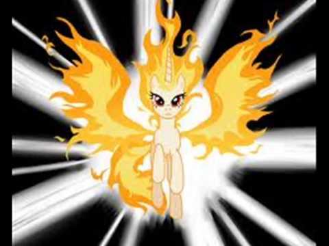 MLP.FIM Fire Twilight Sprkle Vs Super Rainbow Dasch Tribute
