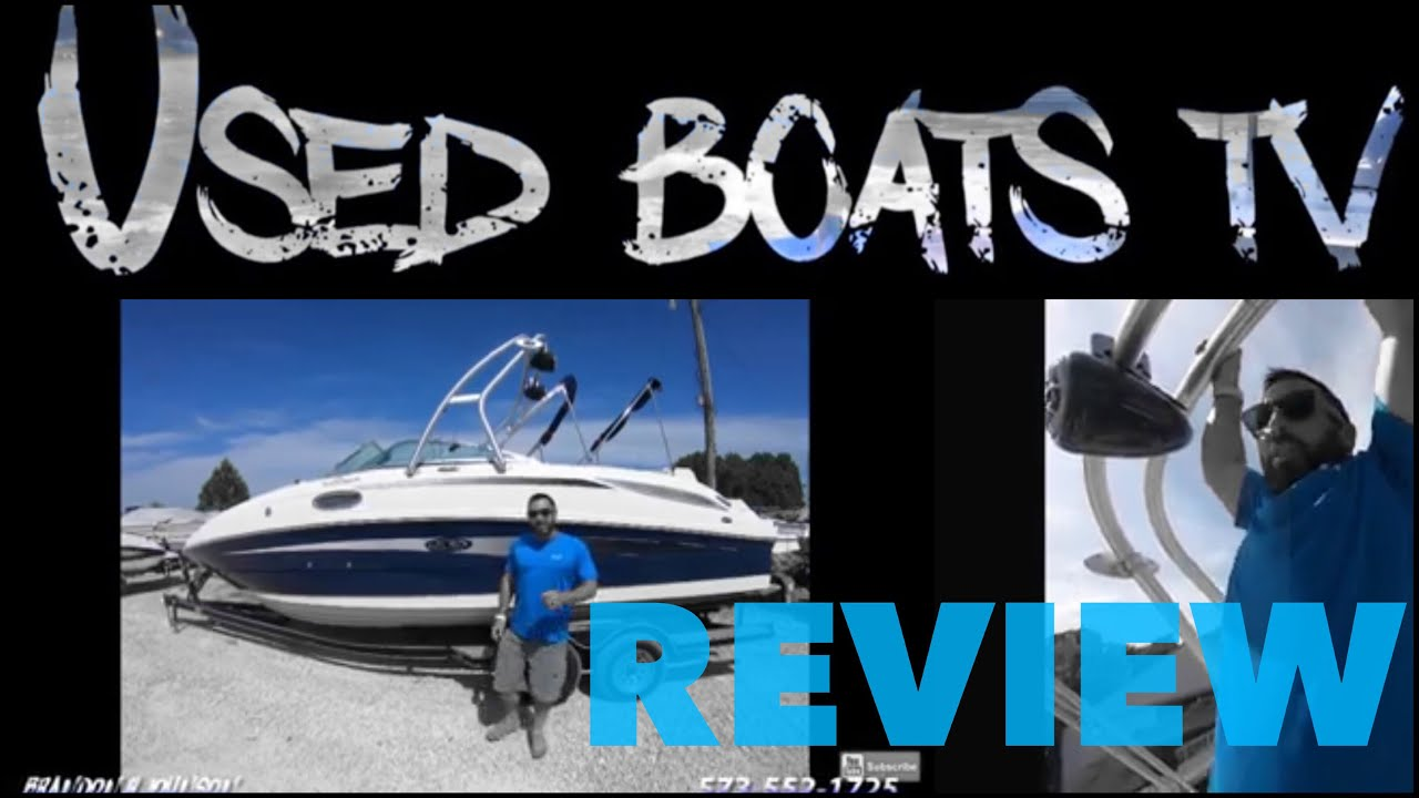 2010 Sea Ray 260 Sundeck Open Bow Deck Rider Boat Test Review At Lake Of The Ozarks For Sale