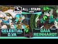 Celestial D.Va & Gaia Reinhardt — Artist's Concepts Explained   Overwatch League 2020 All-Star Skins