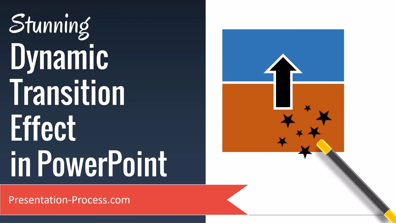 stunning dynamic transition effect in powerpoint youtube