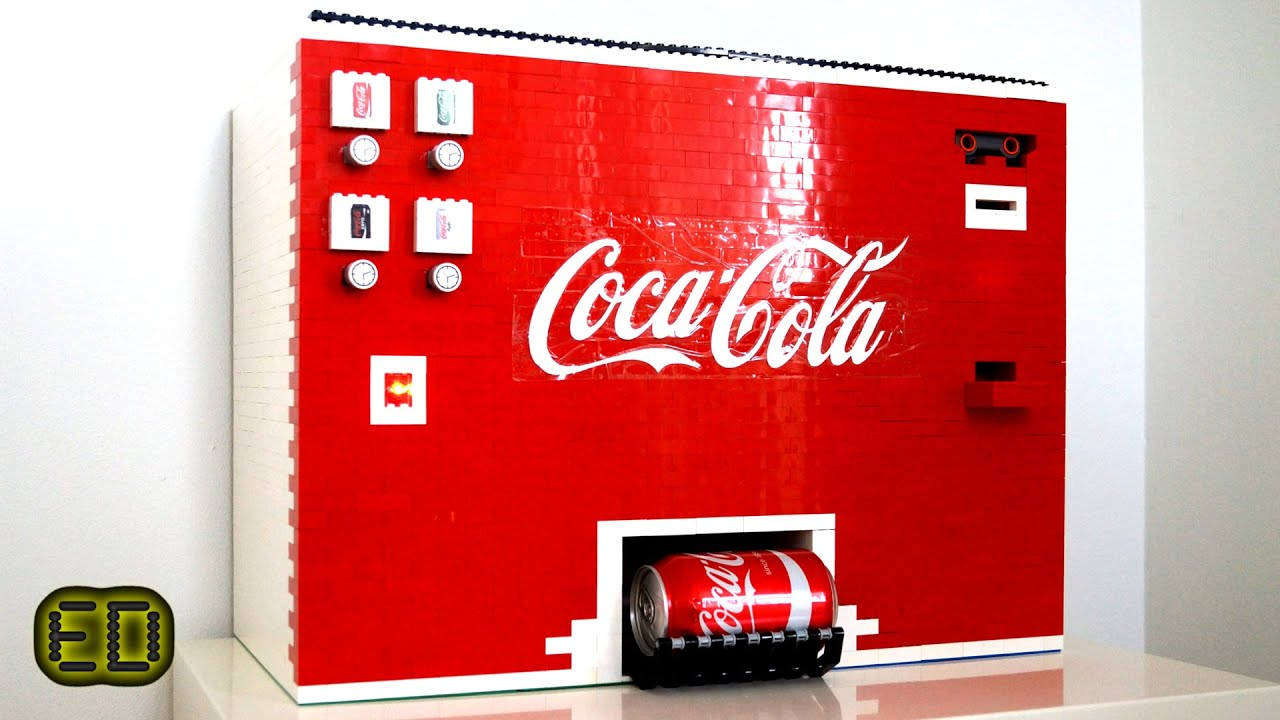 Ultimate Lego Coca Cola Machine Youtube