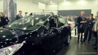 Открытие салона Peugeot в Брянске