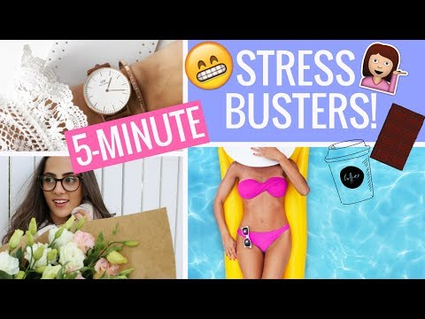 5-Minute Stress Busters For LIFE! Study With Jess