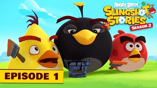 Angry Birds Slingshot Stories S2    Color Crazy Ep.1