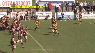 Leigh v Widnes-highlights
