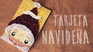 DIY TARJETA NAVIDEÑA (Quilling)