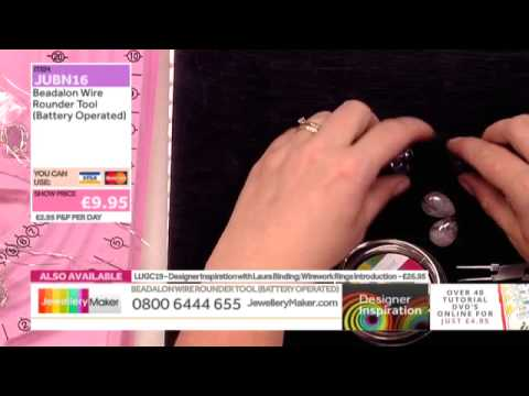 Wirework Rings with Laura Binding - JewelleryMaker DI LIVE 01/07/15