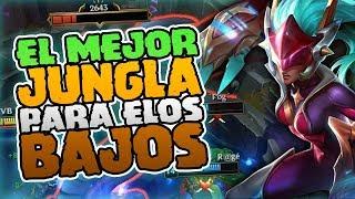 ¡EL MEJOR JUNGLA PARA ELOS BAJOS! - ¡IMPOSIBLE ESCAPAR! | SHYVANA JUNGLA