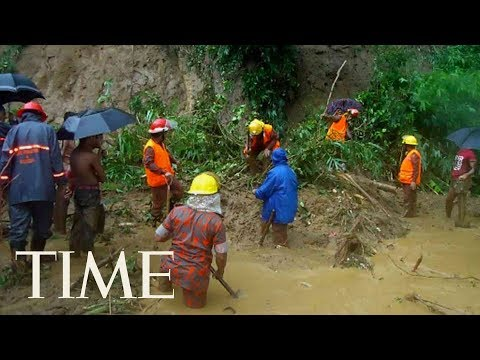 Bangladesh Landslides After Heavy Rains Killed Over 100 People: Death Toll Continues To Rise | TIME