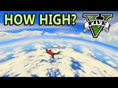 GTA V - How high can you go?