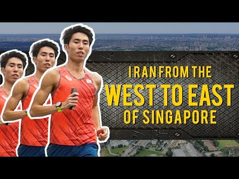 *NEW SERIES* RunSohFast: Running from the West to East of Singapore in 2 Hours
