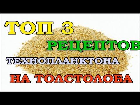 Технопланктон для толстолобика своими руками рецепты видео