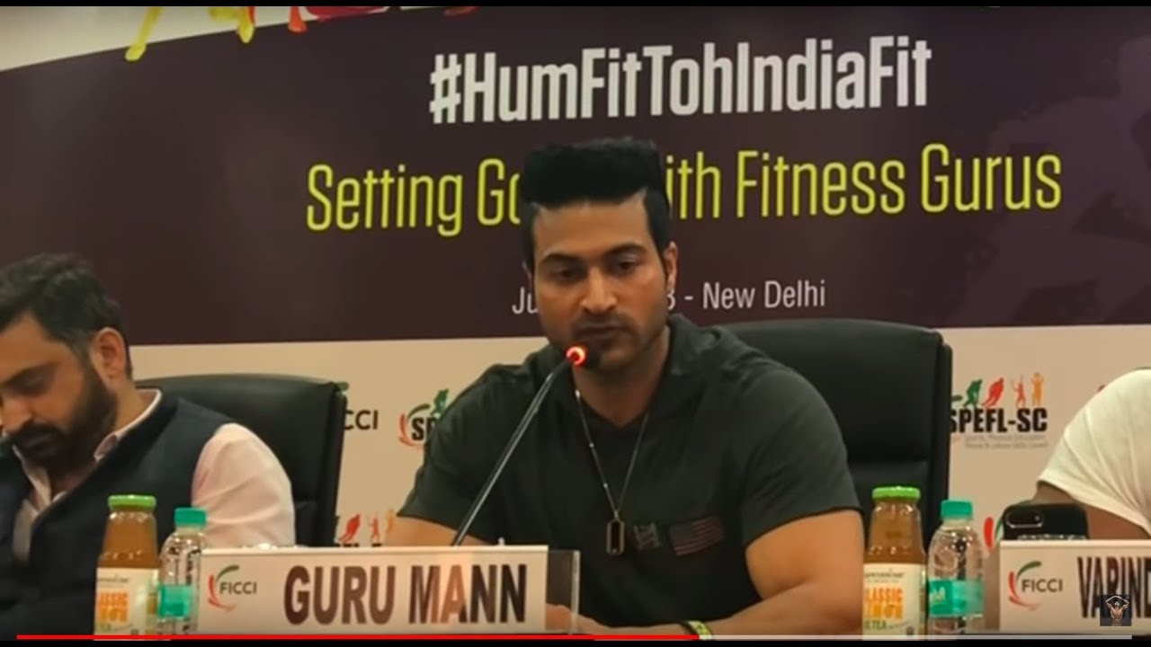 (HumFitTohIndiaFit) Guru Mann had meeting with FICCI regarding Health, Fitness & Sports of India