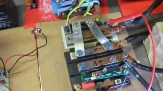 Homebuild DC motor controller