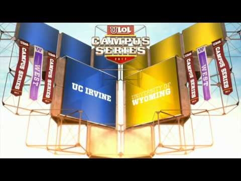 UC Irvine vs University of Wyoming - Game 1 - uLoL Campus Series 2017