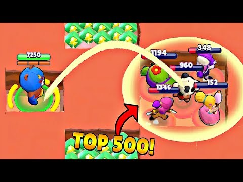 TOP 500 FUNNIEST FAILS IN BRAWL STARS