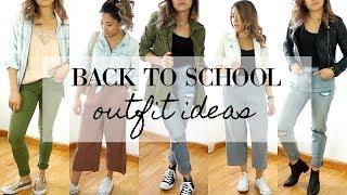 5 days of Outfits for School / College  | Quick, Simple & Stylish Outfit Ideas 2017 + Giveaway!