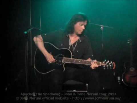 """Apache"" (The Shadows) - John Norum & Tone Norum Tour 2013"
