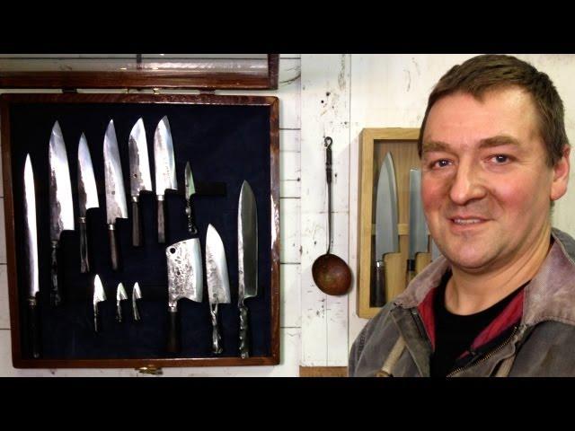 A Modern Blacksmith Making Ancient Japanese Culinary Knives