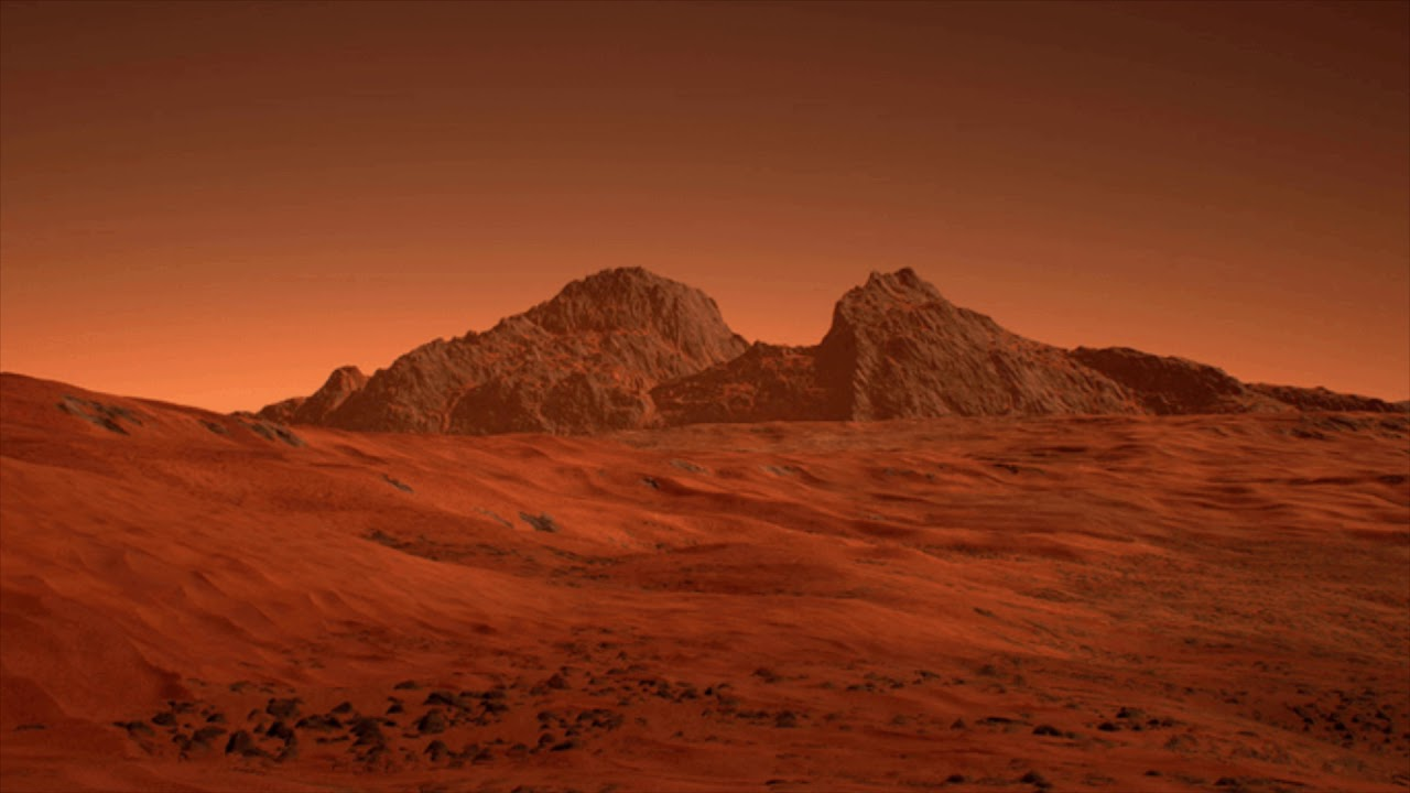 mars landscape background - 1280×720