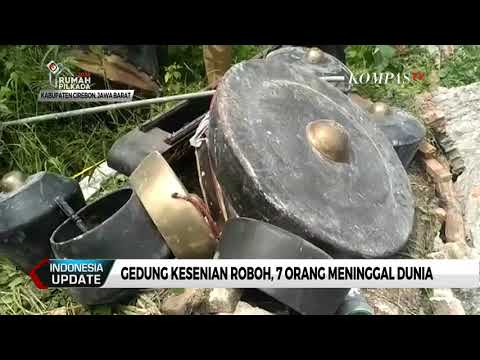 Gedung Kesenian Cirebon Roboh, 7 Orang Meninggal Dunia