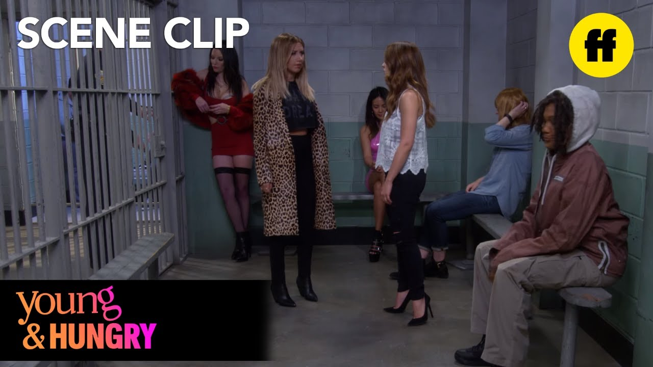 Download Young & Hungry   Season 4, Episode 8: Jail   Freeform