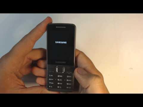 Samsung S5610 factory reset
