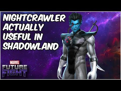 Nightcrawler the Fencing Master!! But Is This Upgrade Enough? X-Force Update - Marvel Future Fight