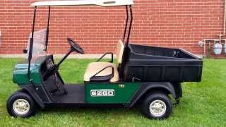 Super Clean Heavy Duty MPT 1000E Utility Vehicle / Golf Cart with Dump Box