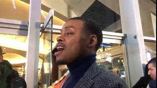 Errol Spence goes off on a reporter - esnews