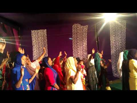 (APOSTLE AKASH) WITH.{BY}…LIVE WORSHIP FROM AMRITSAR PUNJAB..(BY) CHURCH MEDIA TEAM