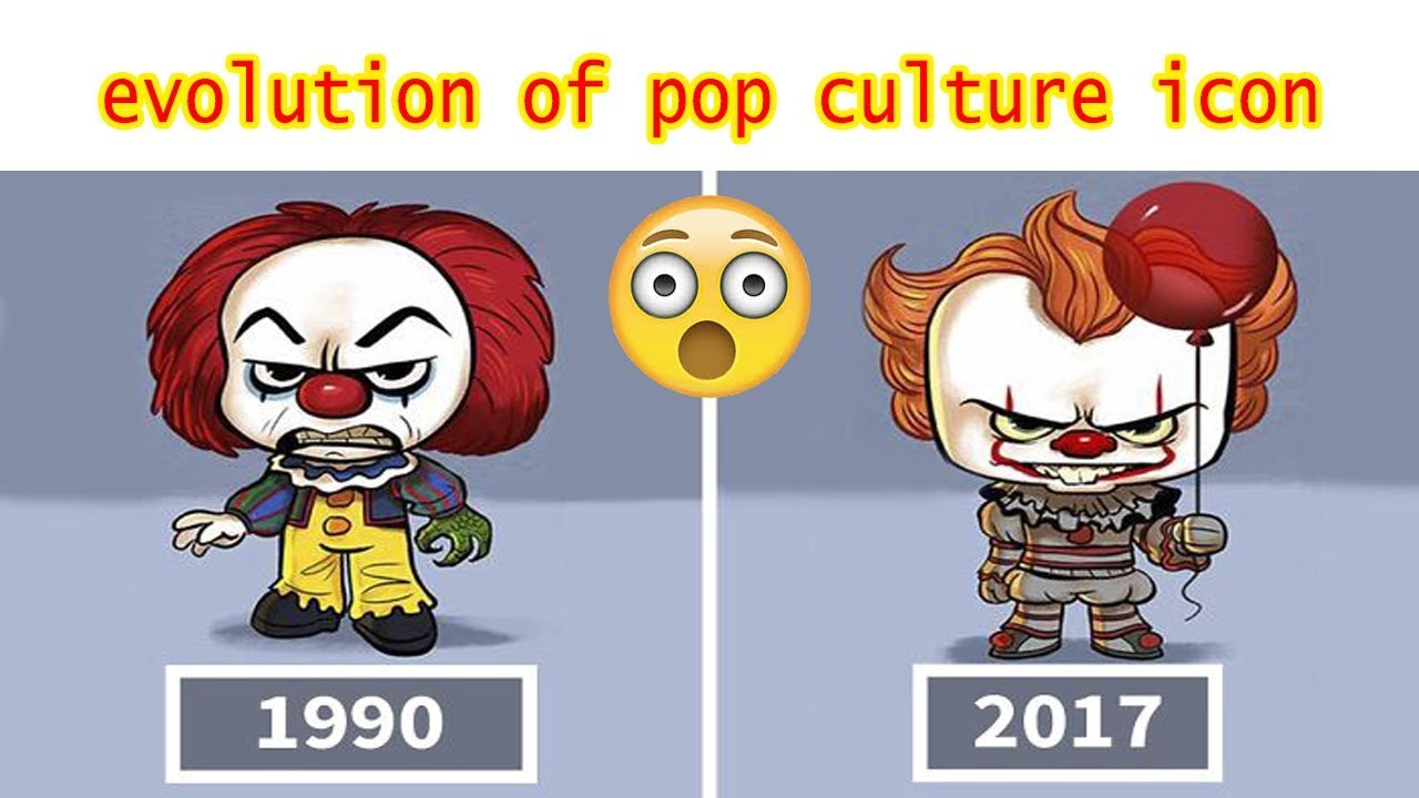 Artist Illustrates The Evolution Of Pop Culture Icons And
