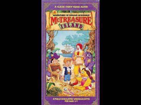 The Adventures of Ronald McDonald: McTreasure Island 1990